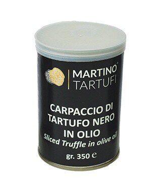 Carpaccio di Tartufo Nero in Acqua gr 350