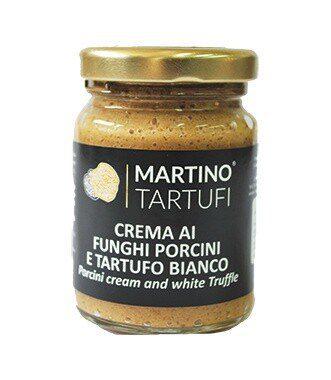 Crema Funghi Porcini e Tartufo Bianco gr.500