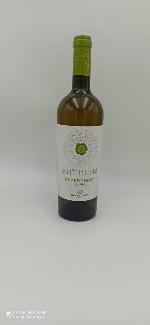 Chardonnay Salento IGP  Anticaia San Donaci cl 75