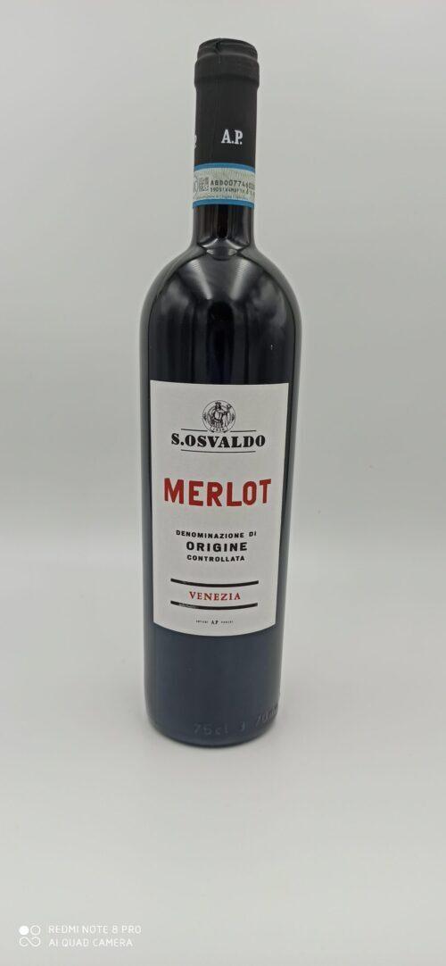 Merlot  DOC Venezia S. Osvaldo cl 75