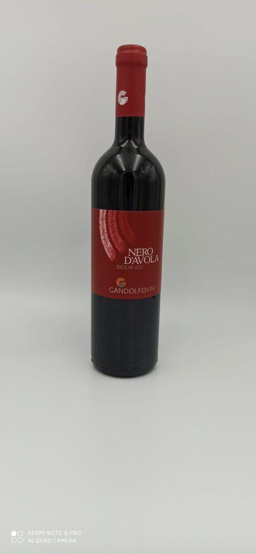 Nero d'Avola Sicilia DOC Gandolfo Vini cl 75