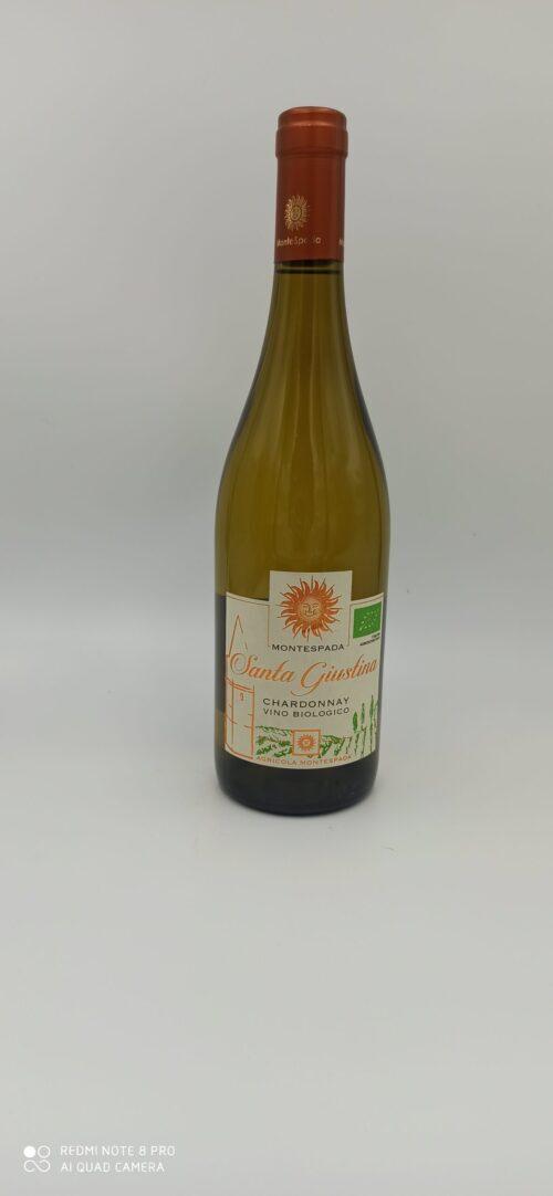 Chardonnay Santa Giustina IGT Veneto Biologico Montespada cl 75