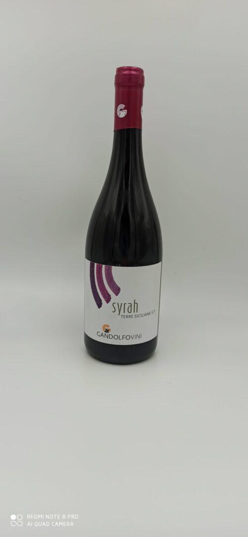Syrah Terre Siciliane IGP Gandolfo Vini cl 75