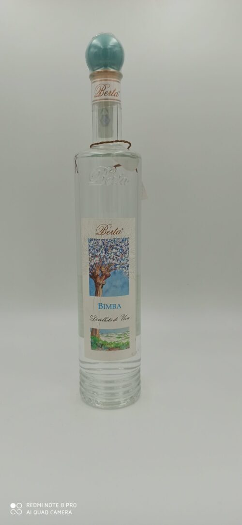 Berta Bimba Distillato d'uva cl 70