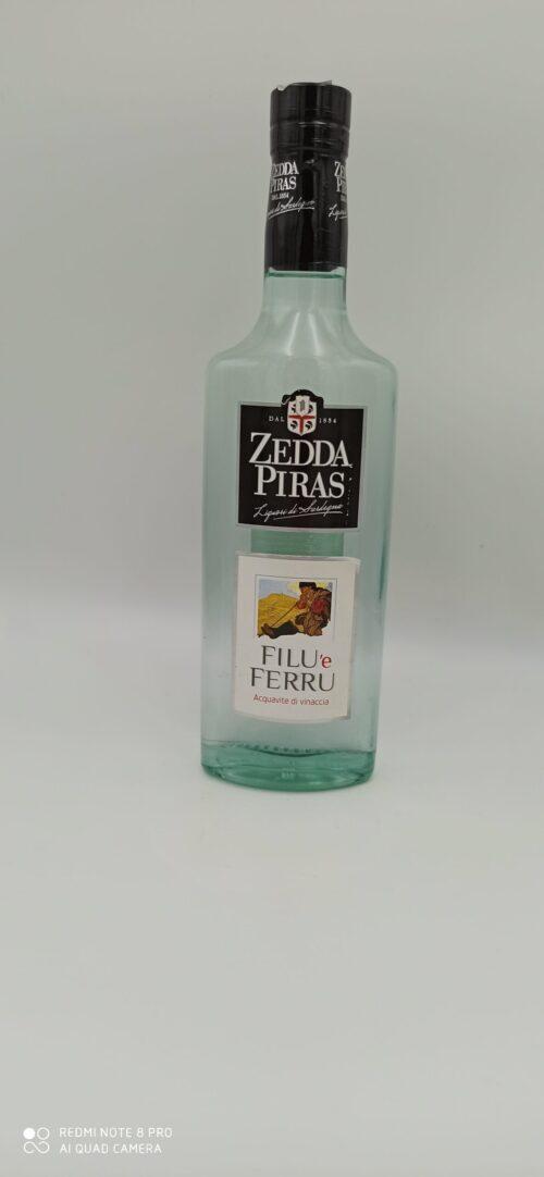 Zedda Piras Filu Ferru acquavite di vinacce cl 70