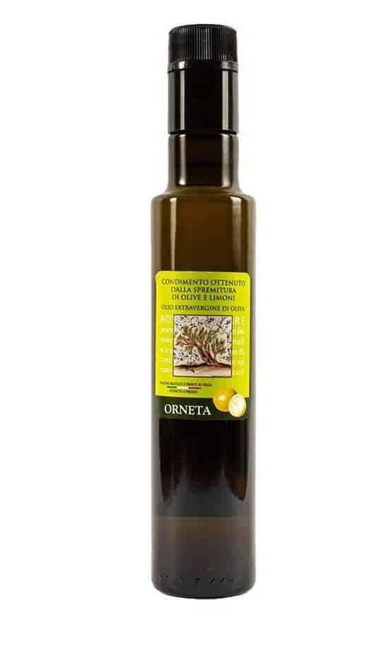 condimento olio limone orneta front