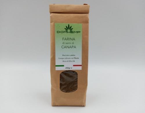 Farina di semi di canapa 250 g.