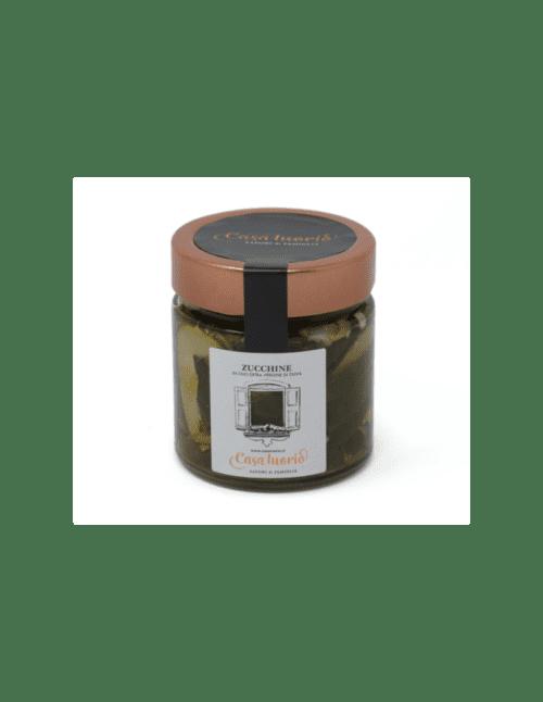 Zucchine in Olio di Oliva Extravergine